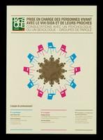 view Prise en charge des personnes vivant avec le VIH/SIDA et de leurs proches : consultations avec un psychologue ou une sexologue : groupes de parole / Le Kiosque Infos Sida.
