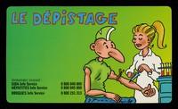 view Le dépistage Sida et traitement d'urgence : demandez conseil: Sida Info Sevice... / ill.: P. Ouin.