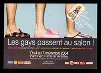 view Les gays passent au salon! : mode / beauté / voyage / culture / sexe / rencontres / spectacles / maisons / conférences / associations : du 4 au 7 novembre 2004, Paris Expo / Porte de Versailles ...