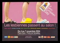 view Les lesbiennes passent au salon! : mode / beauté / voyage / culture / sexe / rencontres / spectacles / maisons / conférences / associations : du 4 au 7 novembre 2004, Paris Expo / Porte de Versailles ...