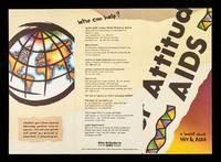 view Attitud AIDS : a leaflet about HIV & AIDS