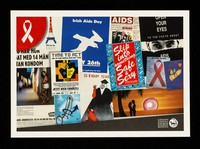 view Compilation of posters from the Centre for Sexual and Reproductive Health collection in the Library & Archives at the London School of Hygiene and Tropical Medicine : originally designed as a posterboard for the exhibition HIV/AIDS: controlling and eradicating a modern epidemic, 2014.