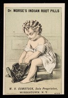 view Dr. Morse's Indian Root Pills : W. H. Comstock, sole proprietor, Morristown, N.Y.