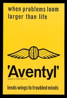 view When problems loom larger than life : 'Aventyl' lends wings to troubled minds.