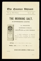 view The Counter Adjunct : No. 291 (new series) March, 1916 : The Morning Salt.