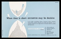 view When time is short Crystamycin may be decisive.