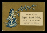 view Hall's Liquid Starch Polish, the best in the market. Give it one trial.