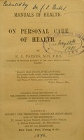 view On personal care of health
