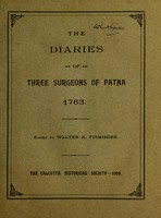 view The diaries of three surgeons of Patna, 1763