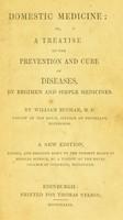 view Domestic medicine ... / [William Buchan].