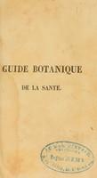 view Guide botanique de la santé, ou traité simple des maladies et des herbes qu'il faut employer pour les guérir ... / Traduit sur la quatorzième édition anglaise.