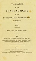 view A translation of the pharmacopoeia of the Royal College of Physicians, of London. 1824.