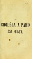 view Le Choléra à Paris en 1847, : sa marche actuelle en Europe, ses préservatifs et ses remèdes infaillibles.