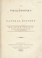 view The philosophy of natural history