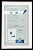 view Golas nasales vaso-constrictor : Flavedrin Frosst / Charles E. Frosst & Co. ; representantes exclusivos para Cuba: Distribuidora Cubana.