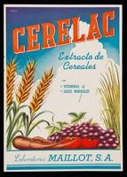 view Cerelac, extracto de cereales con vitaminas y sales minerales : Seric-Vac ayuda a defender al organismo contra las infeciones intestinales : vacuna coli-entérica mixta con bacteriófagos ... / Laboratorios Maillot, S.A.