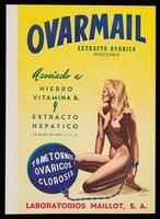 view Ovarimail, extracto ovarico inyectable ... : Cerelac, extracto de cereales con vitaminas y sales minerales / Laboratorios Maillot, S.A.