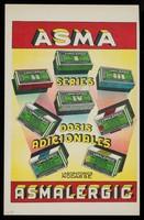 view Asma Asmalergic : Asmaoral : terapeutica antiasmatica ... / Laboratorios Nodarse S.A.