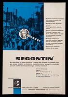 view Segontin : no solo dilata los vasos coronarios y aporta más oxígeno al miocardio ... / Hoechst A.G. ; representantes: Farmaceutica Hoechst Mexicana, S.A.