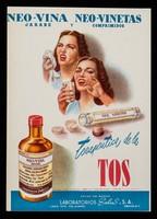 view Neo-Vina Jarabe y Neo-Vina Comprimidos : terapeutica de la tos / Laboratorios Salus S. de R.L.