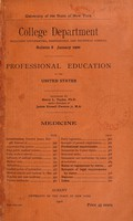 view ... Professional education in the United States