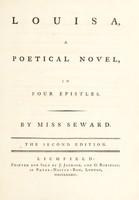 view Louisa : a poetical novel, in four epistles