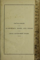 view Shaw & Sons' catalogue of the authorised books and forms of the local govenrment board , and other papers required in the administration of local govenrment / Shaw & Sons.