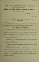 view [Report 1914] / Medical Officer of Health, Caterham U.D.C.