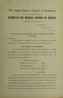 view [Report 1915] / Medical Officer of Health, Caterham U.D.C.