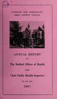 view [Report 1967] / Medical Officer of Health, Caterham & Warlingham U.D.C.