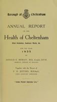 view [Report 1935] / Medical Officer of Health, Cheltenham Borough.