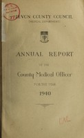 view [Report 1940] / Medical Officer of Health, Devon County Council.
