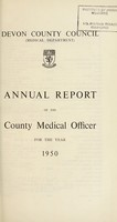 view [Report 1950] / Medical Officer of Health, Devon County Council.