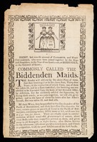 view A short, but concise account of Elisabeth, and Mary Chulkhurst, who were born joined together by the hips and shoulders, in the year of our Lord 1100, at Biddenden, in the county of Kent : commonly called the Biddenden Maids.