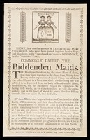 view A short, but concise account of Elisabeth and Mary Chulkhurst, who were born joined together by the hips and shoulders, in the year of our Lord 1100, at Biddenden, in the county of Kent : commonly called the Biddenden Maids.