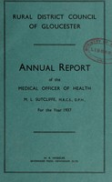 view [Report 1937] / Medical Officer of Health, Gloucester R.D.C.