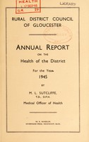 view [Report 1945] / Medical Officer of Health, Gloucester R.D.C.