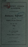 view [Report 1946] / Medical Officer of Health, Gloucester R.D.C.