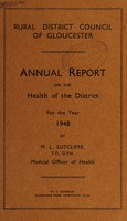 view [Report 1948] / Medical Officer of Health, Gloucester R.D.C.