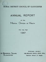 view [Report 1967] / Medical Officer of Health, Gloucester R.D.C.