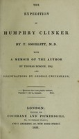 view The expedition of Humphry Clinker