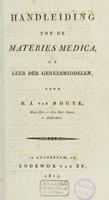 view Handleiding tot de materies medica, of leer der geneesmiddelen
