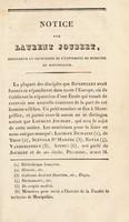 view Notice sur L. Joubert.