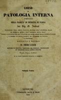 view Corso di patologia interna insegnato nella Facoltà di Medicina di Pàrigi ... / Raccolto e disteso de A. Latour.