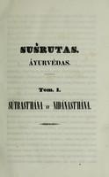 view Ayurvédas : id est medicinae systema a venerabili D'Hanvantare demonstratum