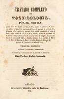 view Tratado completo de tocsicología ... / [Matthieu Joseph Bonaventure Orfila].
