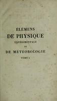 view Élémens de physique expérimentale et de météorologie / Par C.S.M.M.R Pouillet.