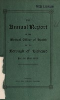 view [Report 1925] / Medical Officer of Health, Liskeard Borough.
