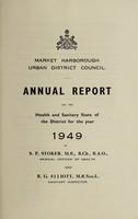 view [Report 1949] / Medical Officer of Health, Market Harborough U.D.C.