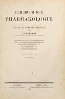 view Lehrbuch der Pharmakologie für Ärzte und Studierende / von E. Poulsson ; Deutsche Original-Ausg. besorgt von Friedrich Leskien.